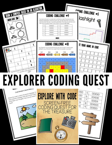 Coding Explorer's Quest Pack