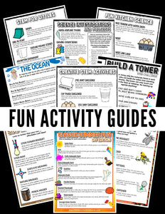 Activities for Kids Printable Guides