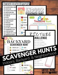 8 Scavenger Hunts for Kids
