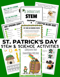 St. Patrick's Day STEM Pack