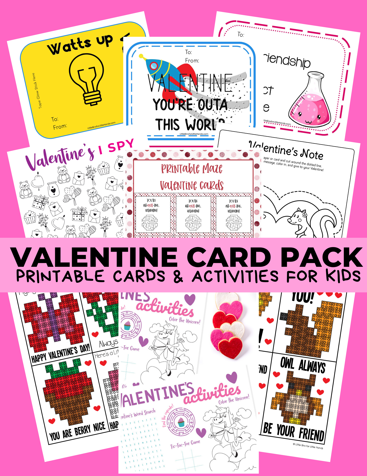 Valentine Card Pack
