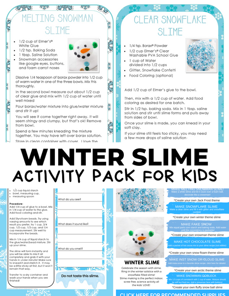 Winter Slime Pack
