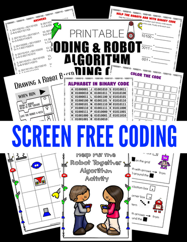 Classic Coding STEM Activity Pack