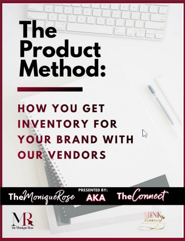 The Product Method: How to Get Inventory with Our Vendors