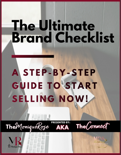 The Ultimate Brand Checklist: A Step-By-Step Guide To Selling Now!