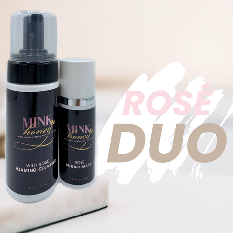 The Rose + Rosé Facial Duo