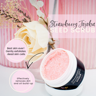 Strawberry Jojoba Seed Scrub