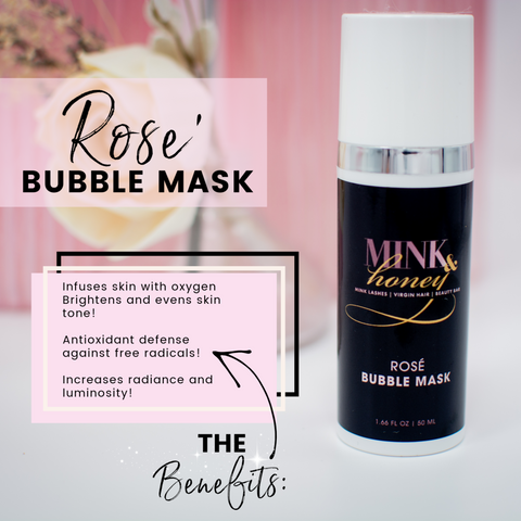 Rosé Bubble Mask