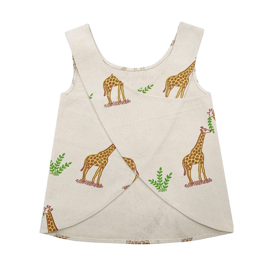 Toddler Apron- Giraffe