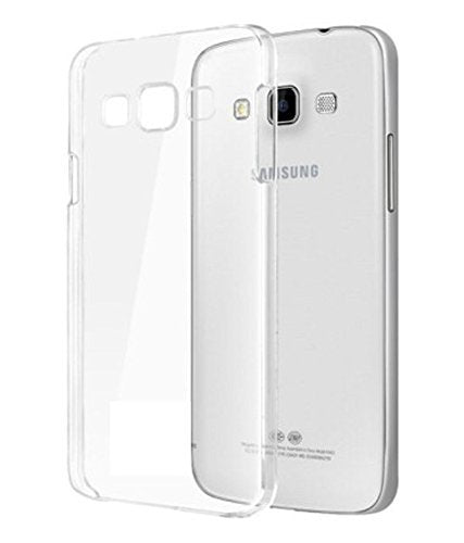 Samsung Galaxy J5 2015 Silicone Soft Back Case Cover (Transparent)