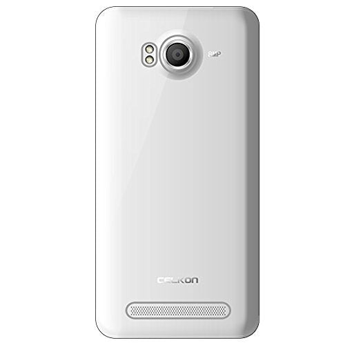 Celkon Millennia Octa 510 Silicone Soft Back Case Cover (Transparent)