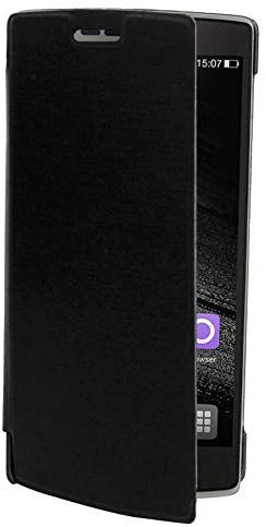 Xolo A500s Flip Case Diary Folio Flap Case Cover - Black