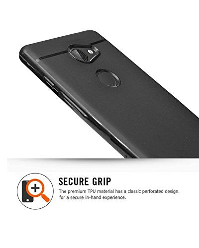 Tenor 10. Or E Silicon Soft Back Cover Protective Case (Black)