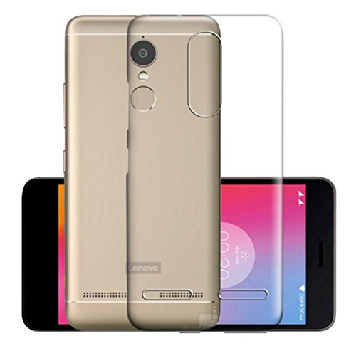 Lenovo K6 Note Silicone Soft Back Case Cover (Transparent)