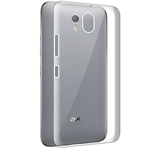 Lenovo ZUK Z1 Silicone Soft Back Case Cover (Transparent)