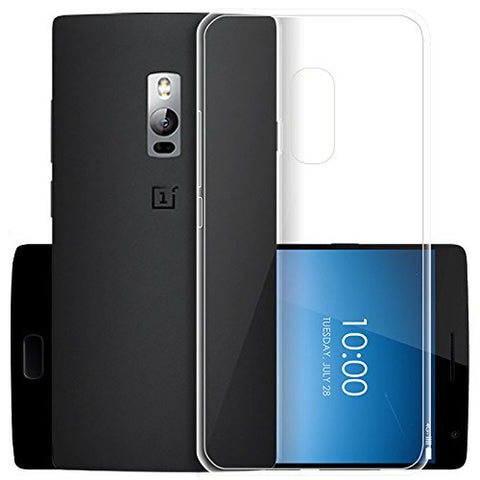 OnePlus 1 Silicone Soft Back Case Cover (Transparent)