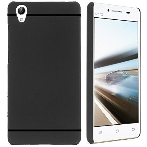 Vivo Y51 Silicon Soft Back Cover Protective Case (Black)