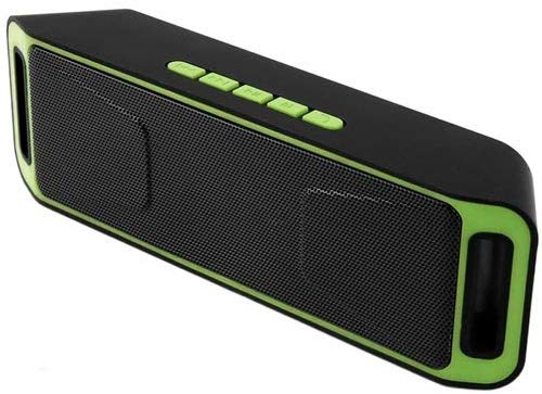 ECell Basics EC208S Wireless bluetooth speaker soundbar portable outdoor audio Dual subwoofer speaker (Assorted Color)