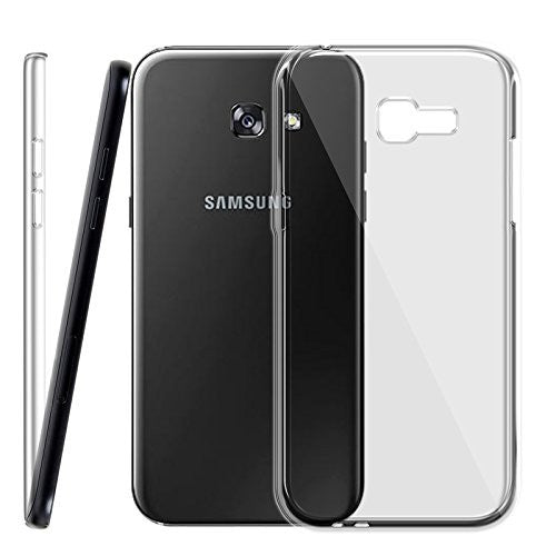 Samsung Galaxy A5 2017 Silicone Soft Back Case Cover (Transparent)