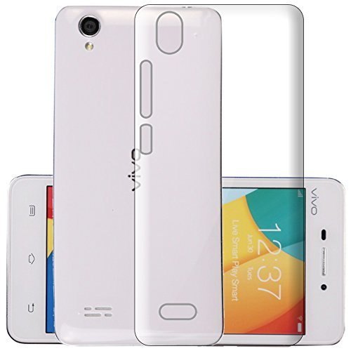 Vivo Y31 Silicone Soft Back Case Cover (Transparent)