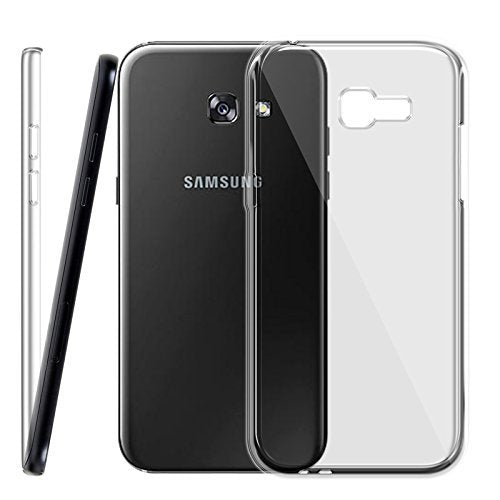 Samsung Galaxy A7 2017 Silicone Soft Back Case Cover (Transparent)