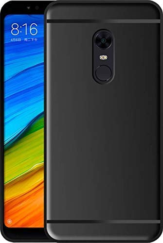 Itel A44 Silicon Soft Back Cover Protective Case (Black)