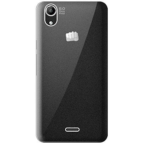 Micromax Canvas Selfie 2 Q340 Silicone Soft Back Case Cover (Transparent)