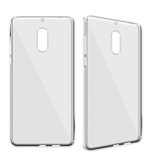 Nokia 3 Silicone Soft Back Case Cover (Transparent)