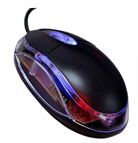 3D Optical Wired USB Mouse (Black)