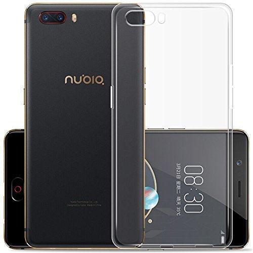 ZTE nubia M2 Play Silicone Soft Back Case Cover (Transparent)