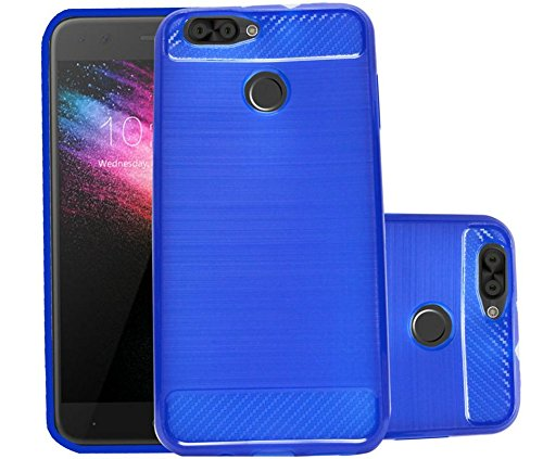Karbonn K9 Smart Grand Soft Matte Finish Back Case Cover - Dark Blue