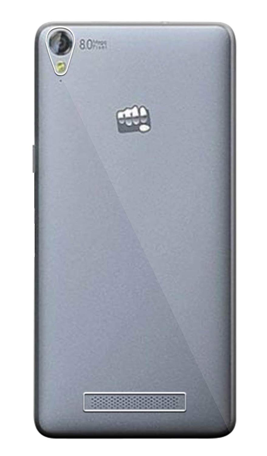 Micromax Canvas Fire 6 Q428 Silicone Soft Back Case Cover (Transparent)