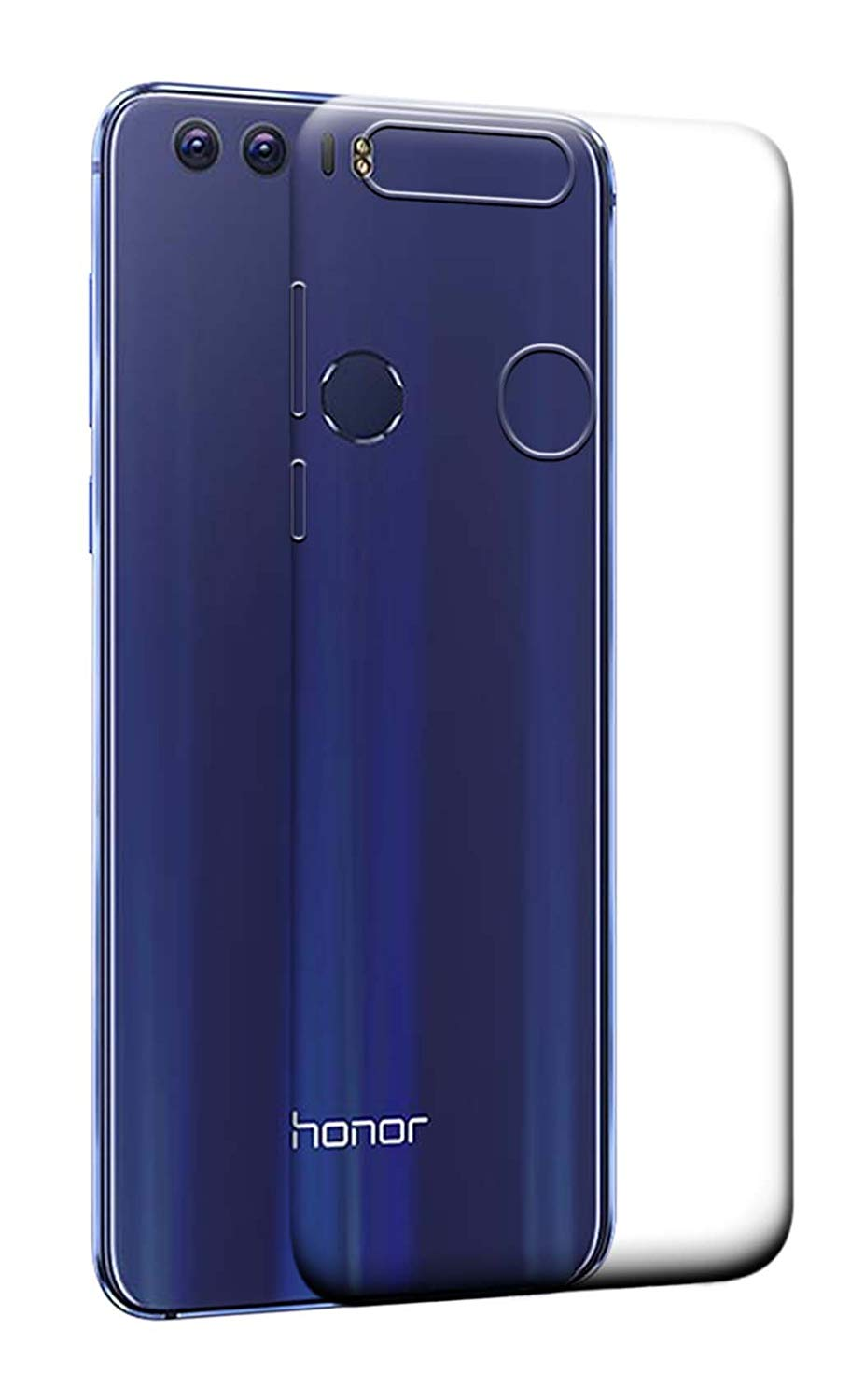 Huawei Honor 8 Silicone Soft Back Case Cover (Transparent)