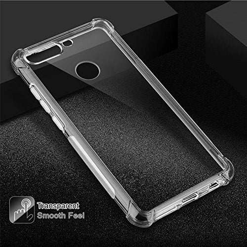Huawei Honor 7A Soft PC TPU Bumper Slim Protective Back Cover Case (Transparent)