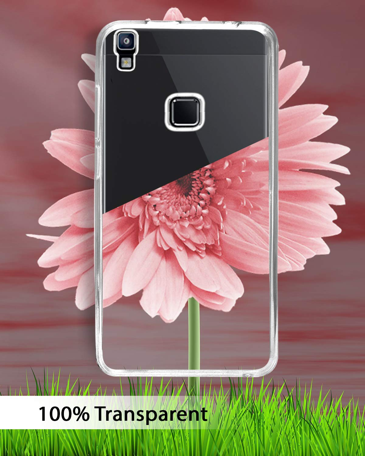 Lava Z80 Silicone Soft Back Case Cover (Transparent)