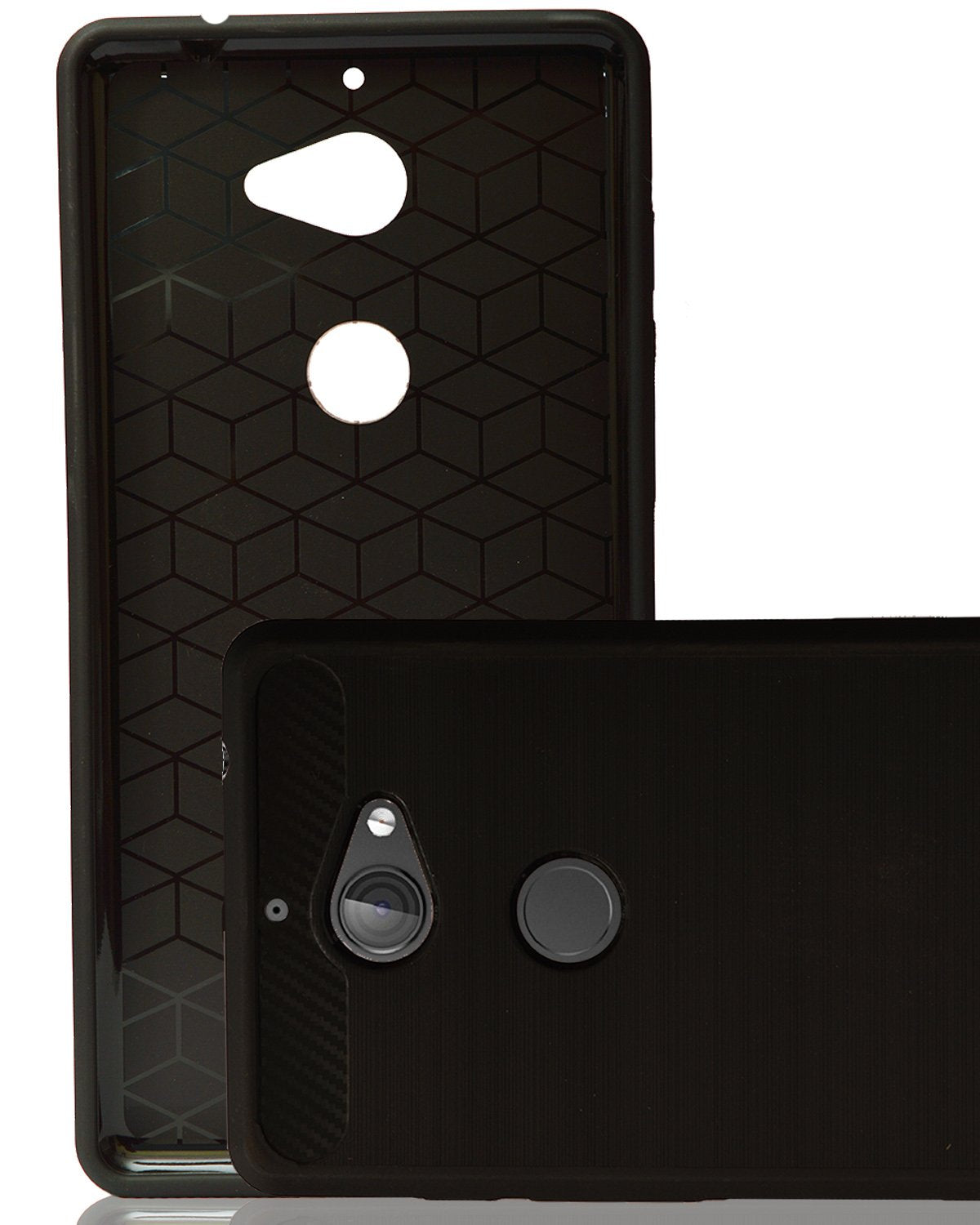 Tenor 10.Or E Rubberised Soft Back Case Protective Cover (Black)