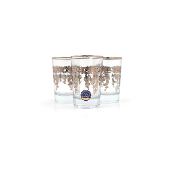 ROMA GRAPPA SILVER TEA CUPS