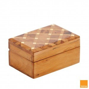 THUYA WOODBOX RECTANGULAR SECTION LEMON