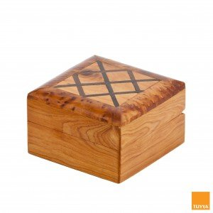 THUYA WOODBOX SQUARE SECTION EBONY