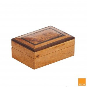 THUYA WOODBOX RECTANGULAR SIMPLE EBONY