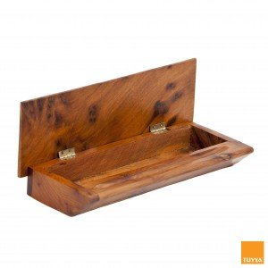 PENCIL BOX THUYA WOOD BOX