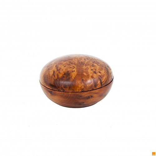 SPHERE SHAPE THUYA WOOD BOX