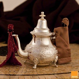 TEAPOT TRADITION ARABESQUE SILVERPLATED M2 LEGS
