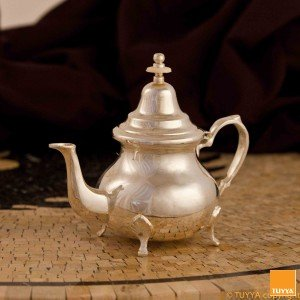 TEAPOT TRADITION PUR SILVERPLATED M2 LEGS