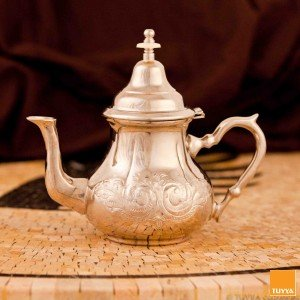 TEAPOT TRADITION ARABESQUE SILVERPLATED L NOLEGS