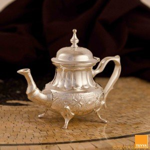 TEAPOT MAESTRO ZULU SILVERPLATED M2 LEGS