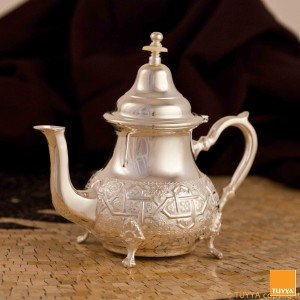 TEAPOT TRADITION ARABESQUE SILVERPLATED L LEGS