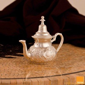 TEAPOT MANCHESTER TRADITION SILVERPLATED M2 NOLEGS