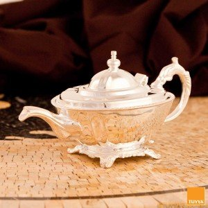 TEAPOT MANCHESTER BRITISHTIME SILVERPLATED M2 LEGS