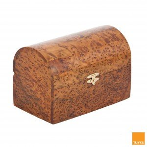 WOOD PUZZLE BOX IN THUYA WOOD